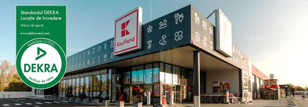 Magazinele Kaufland au ceritifcarea DEKRA
