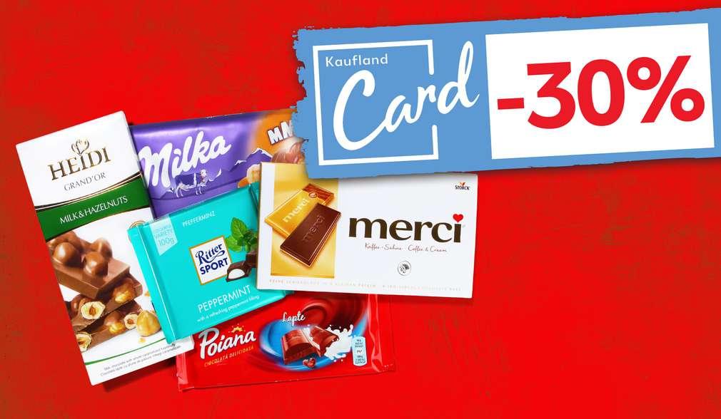 Reducere categorie Kaufland Card