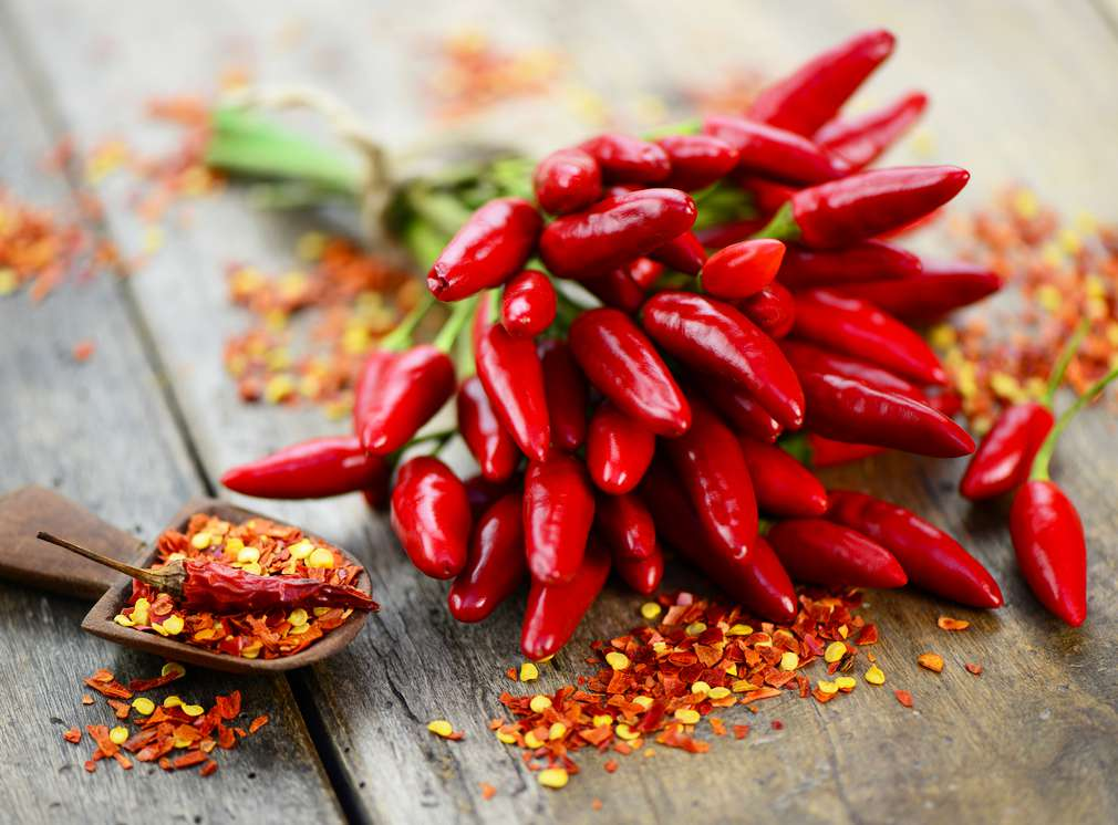 Chili, perfect pentru marinată