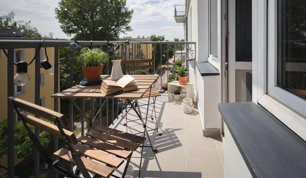 Organizarea balconului