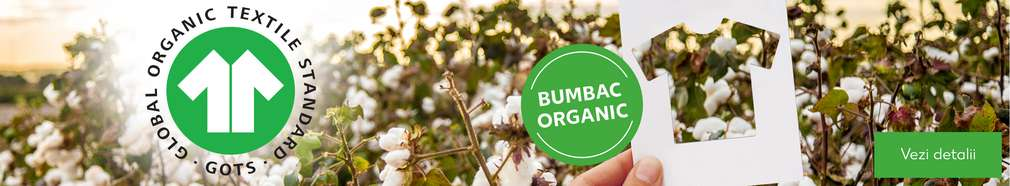 Bumbac organic certificat GOTS