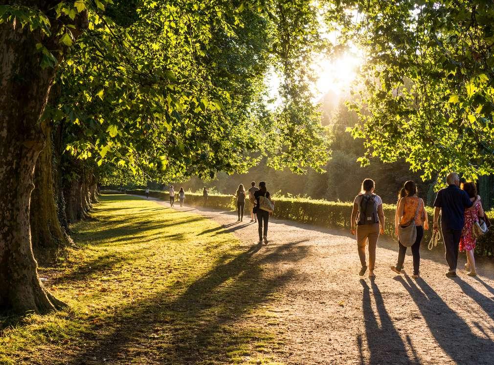 Prechádzka parkom