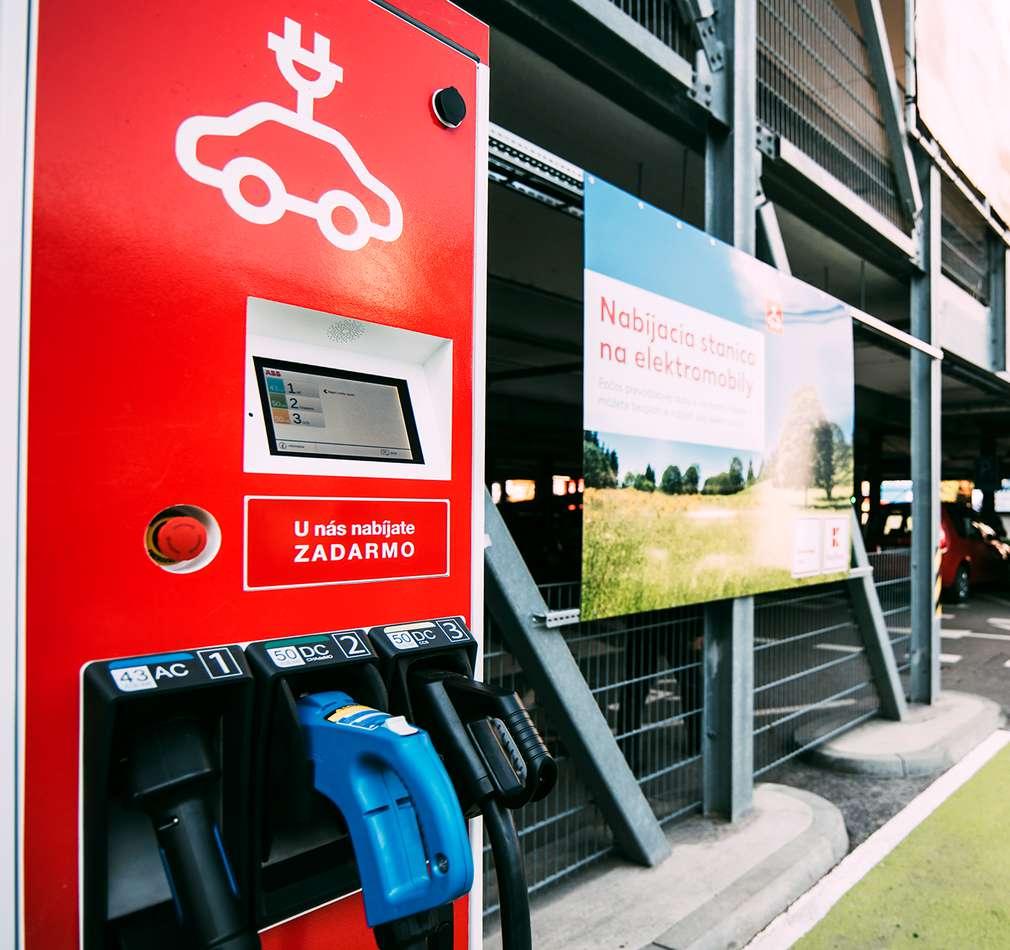 Nabíjacia stanica pre elektromobily