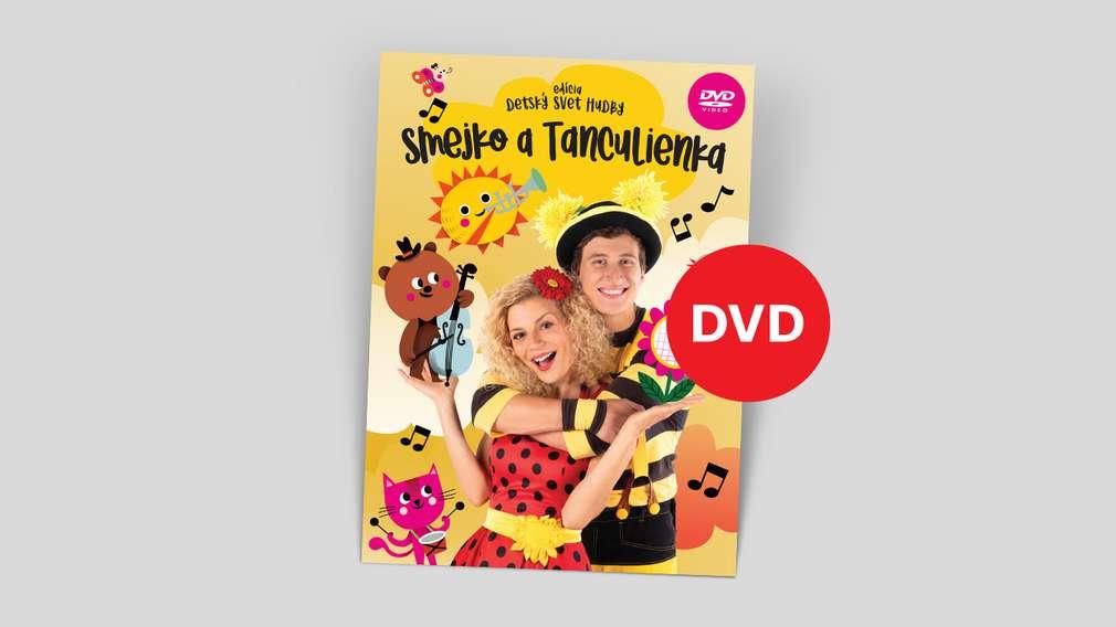 DVD Smejko a Tanculienka