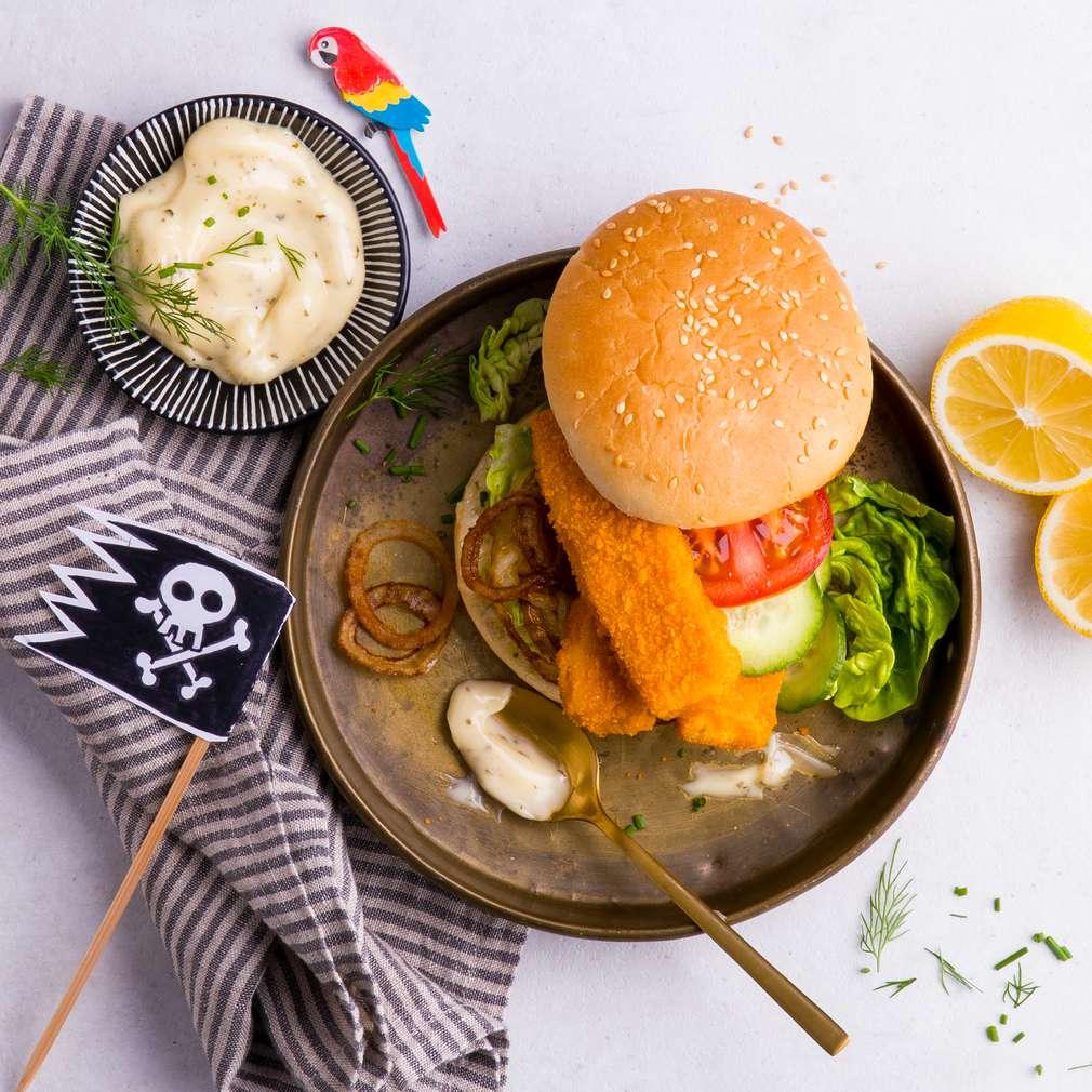 Imaginea rețetei Burgerul piraților