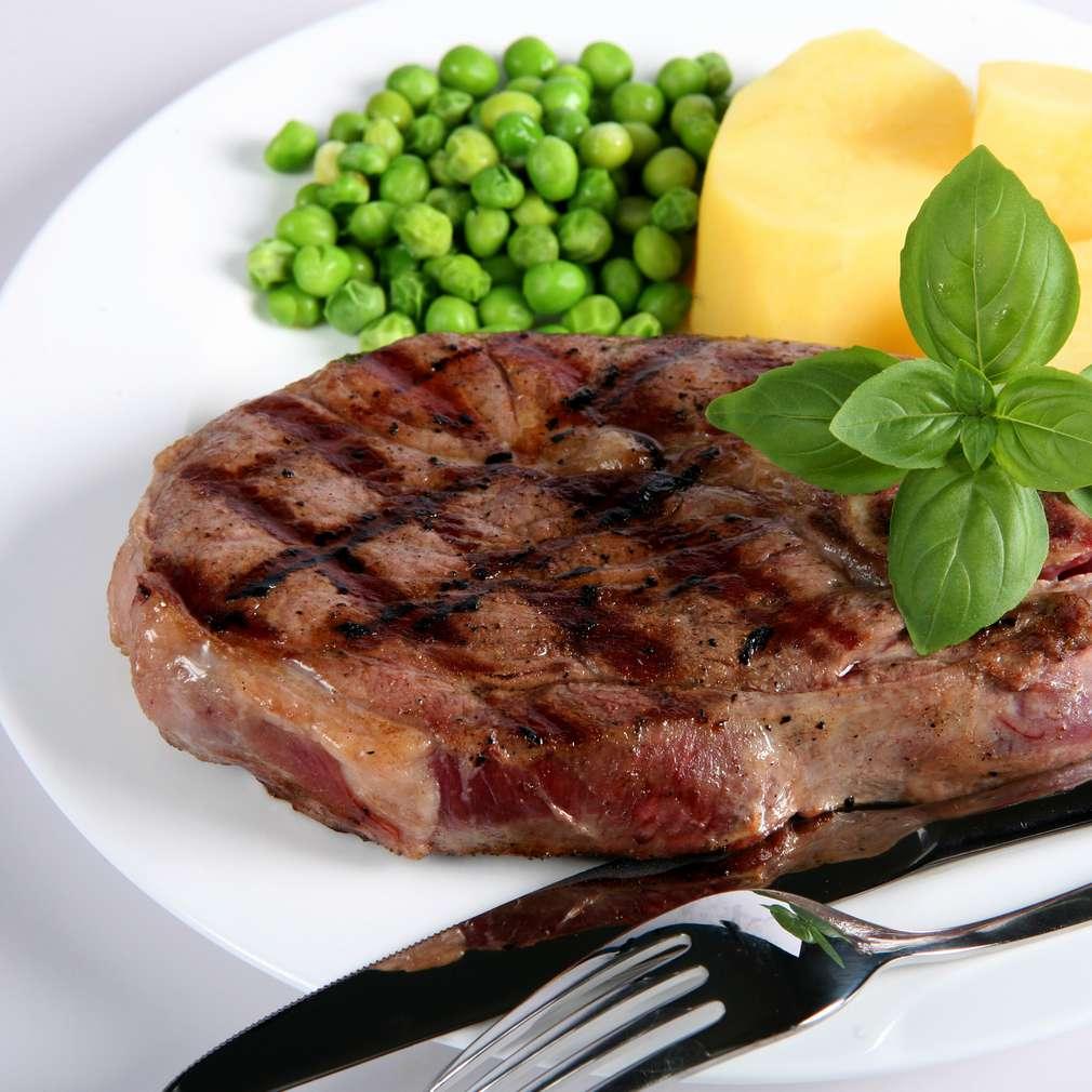 Muşchi de vită la grătar