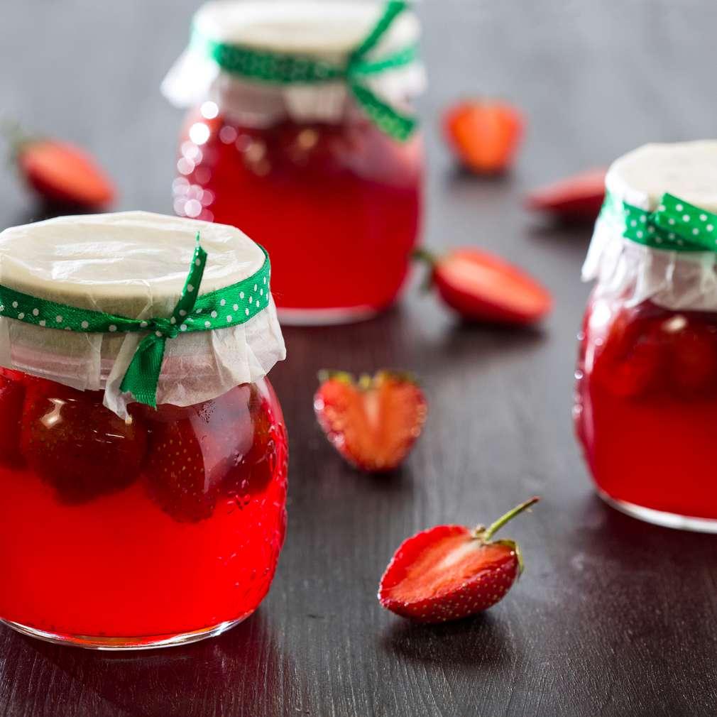 Изобразяване на рецептата Сладко от ягоди