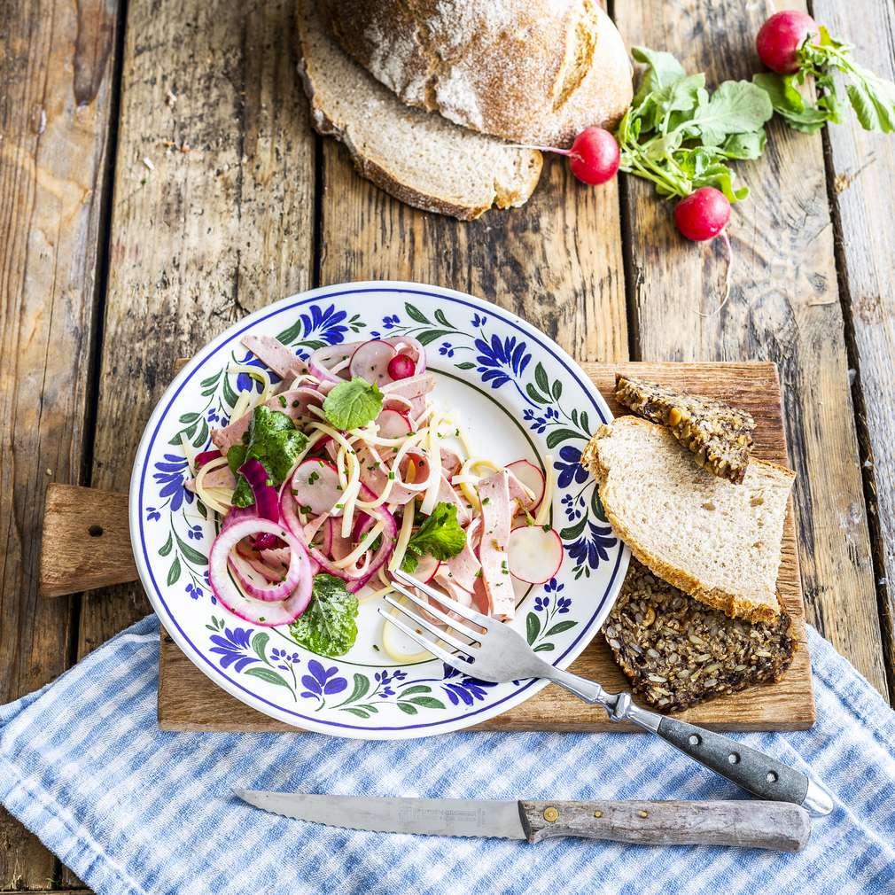 Zobrazenie receptu Bavorský šalát