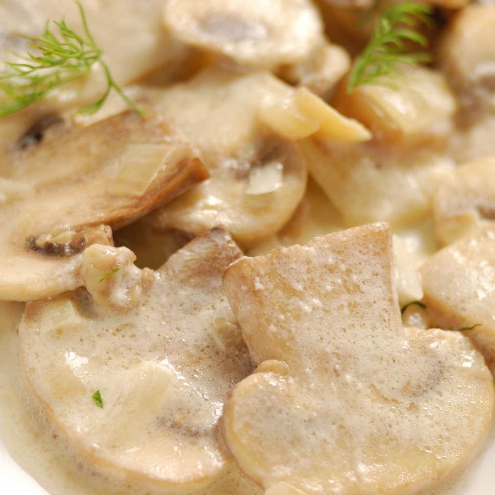 Imaginea rețetei Ciulama țărănească de ciuperci