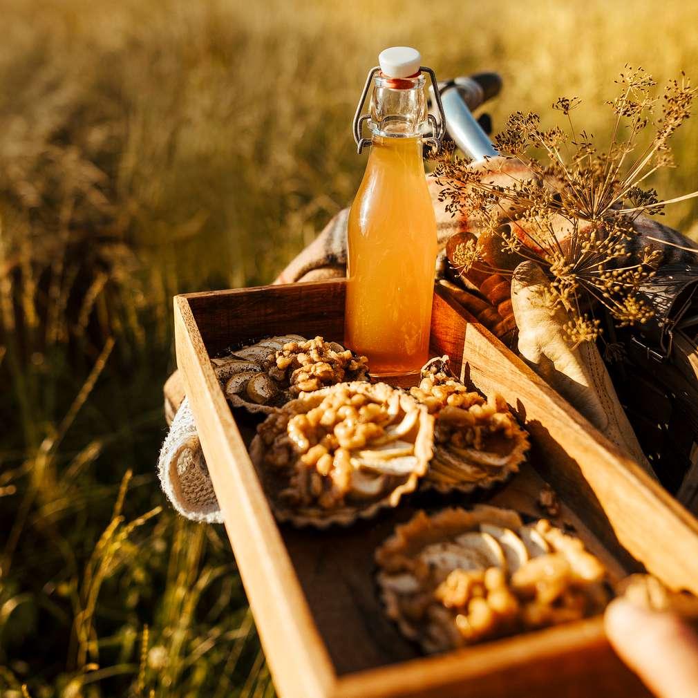 Abbildung des Rezepts Cider-Apfelmus-Tartelettes