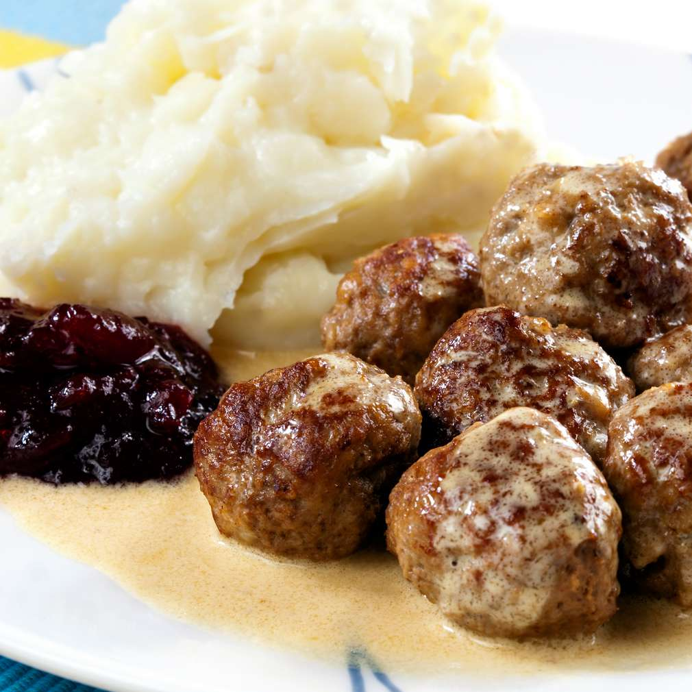 Imaginea rețetei Chifteluțe suedeze
