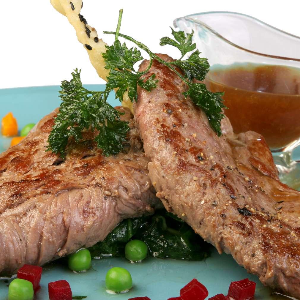 Imaginea rețetei Friptură de vițel pe grătar