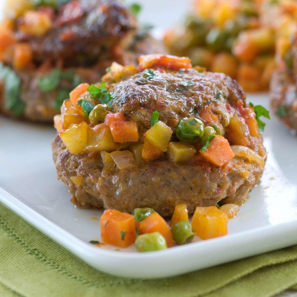Imaginea rețetei Chiftele umplute cu legume