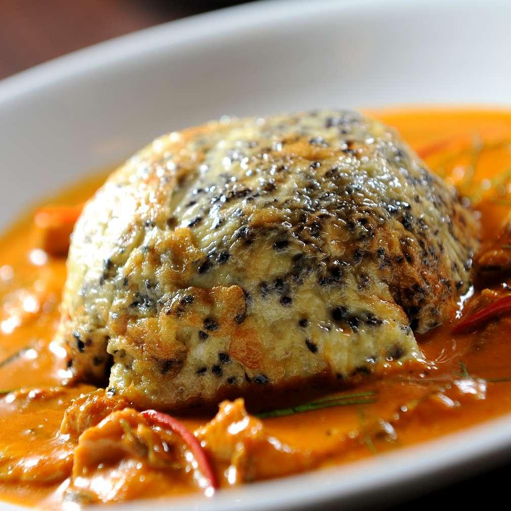 Imaginea rețetei Omletă cu sos de curry