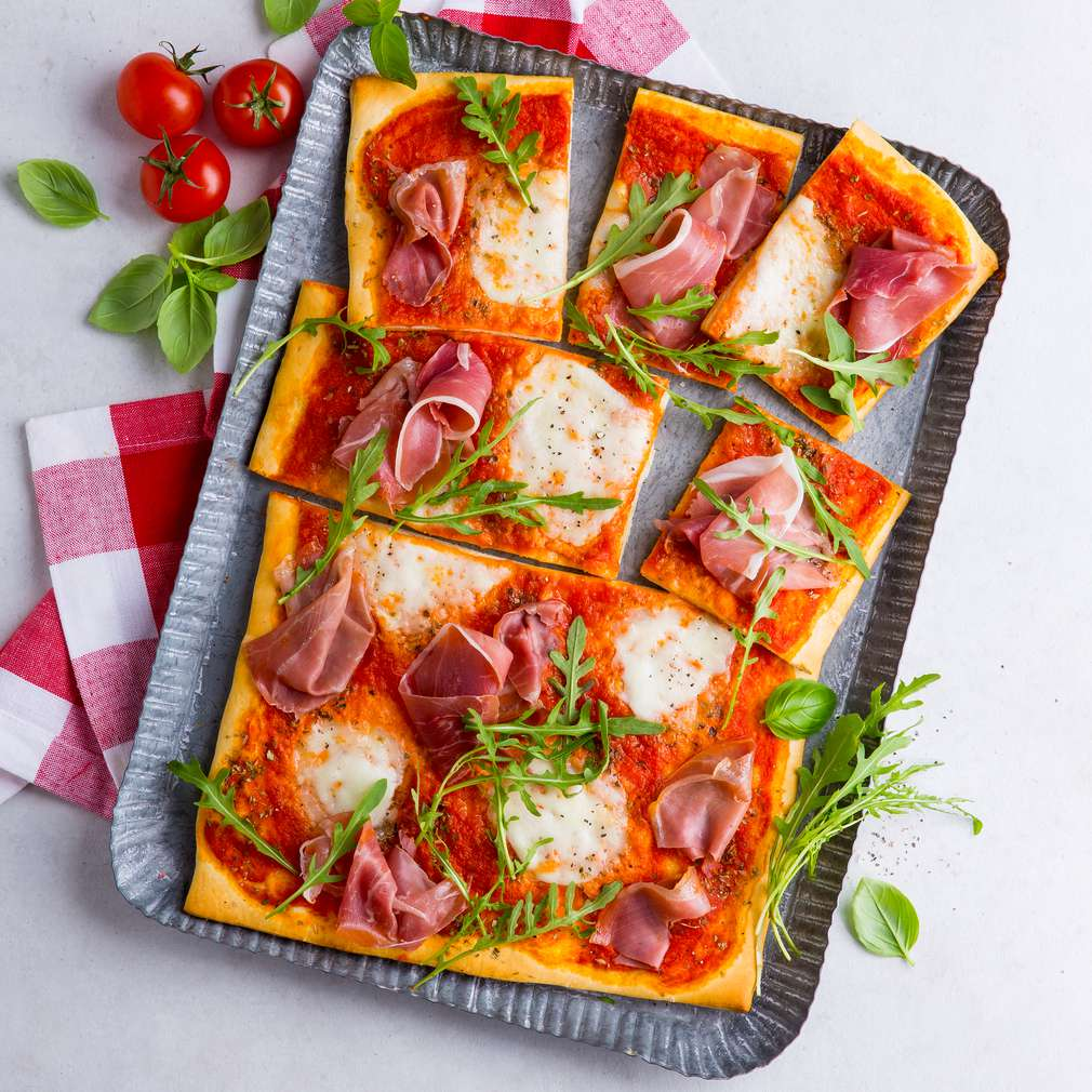 Abbildung des Rezepts Pizza Prosciutto