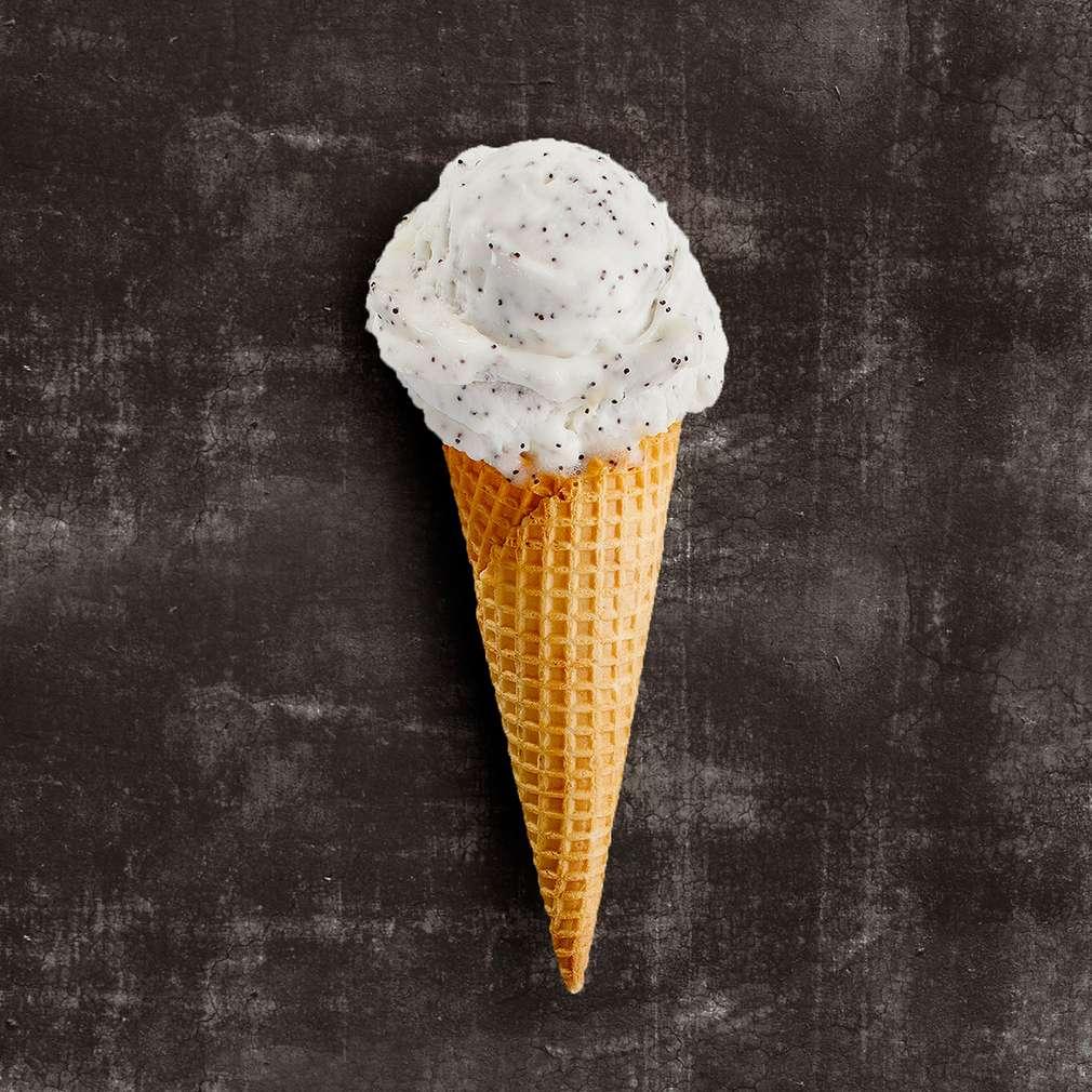 Abbildung des Rezepts Limetten-Mohn-Eis