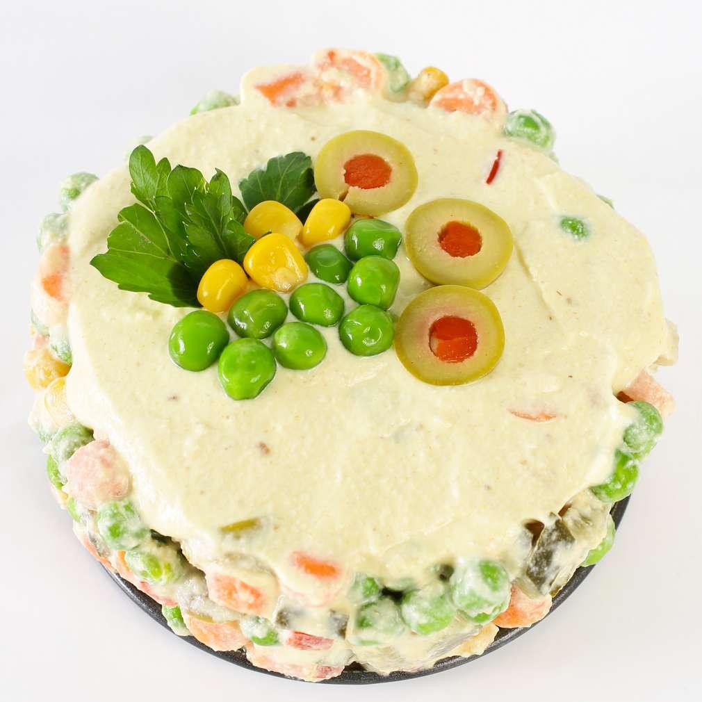 Imaginea rețetei Salată a la rousse raw vegan