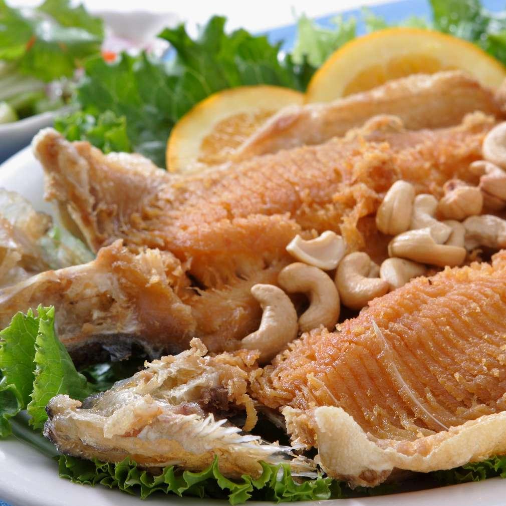 Imaginea rețetei Pește prăjit cu caju