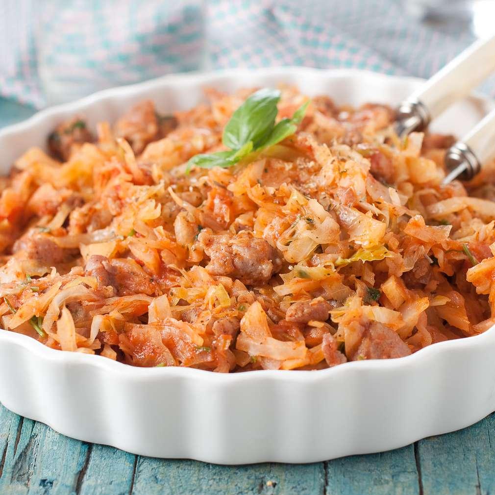 Imaginea rețetei Varză murată cu carne