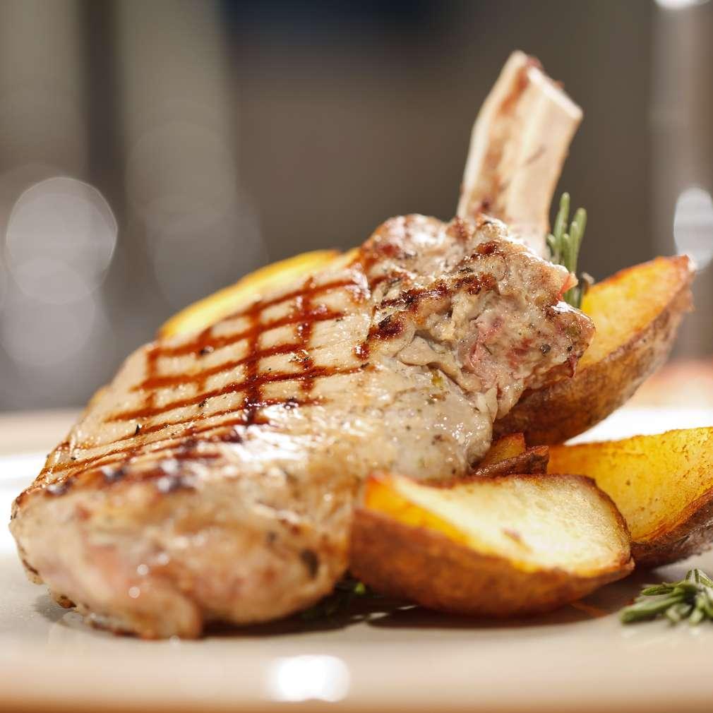 Imaginea rețetei Cotlet de porc pe grătar