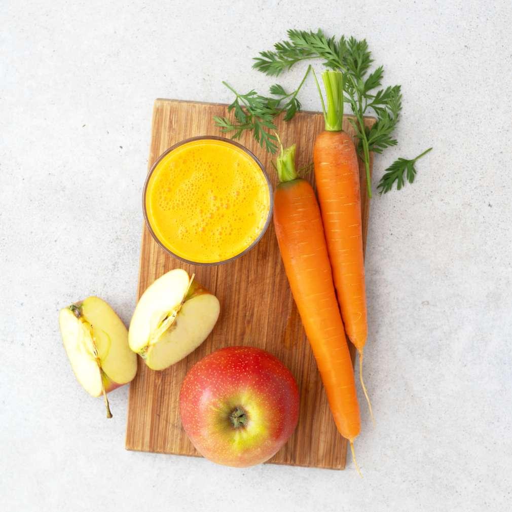 Zobrazit Mrkvovo-jablečná šťáva receptů
