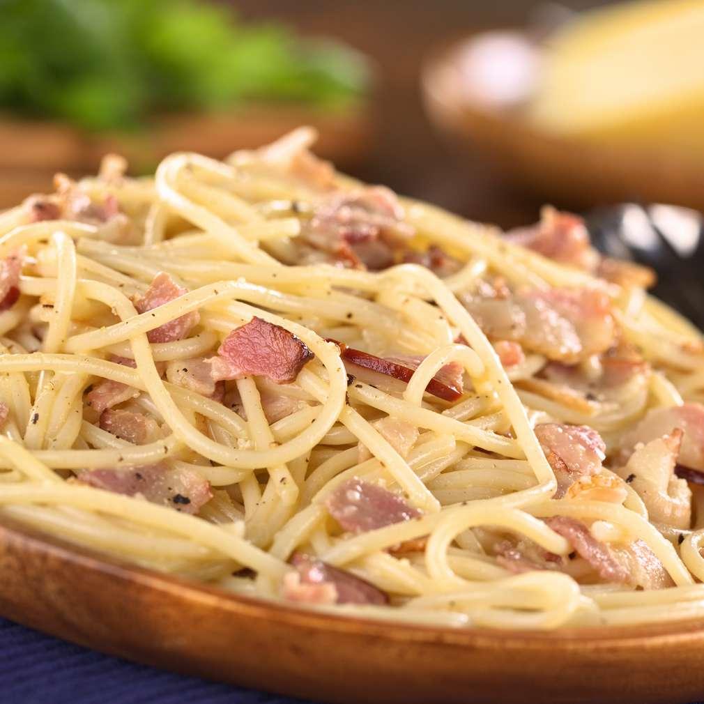 Imaginea rețetei Spaghete carbonara