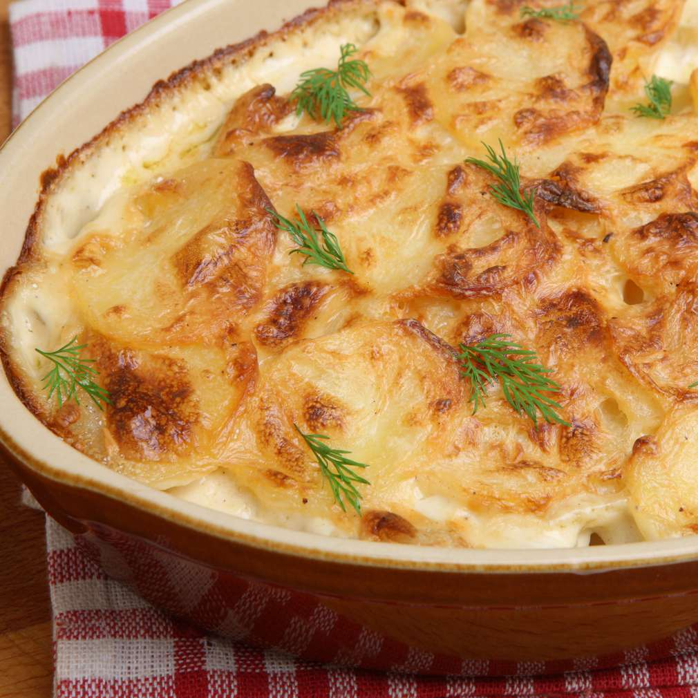 Imaginea rețetei Sufleu de cartofi
