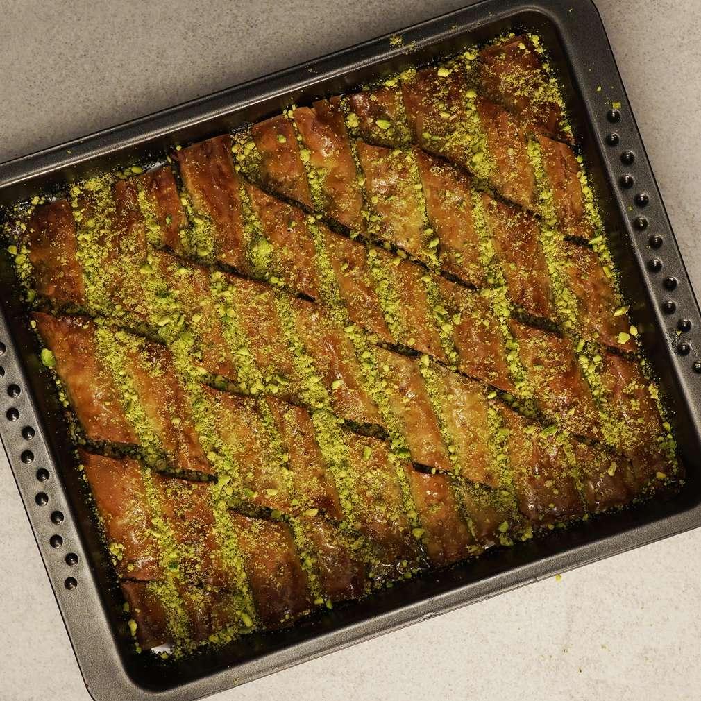 Изобразяване на рецептата Лесна баклава