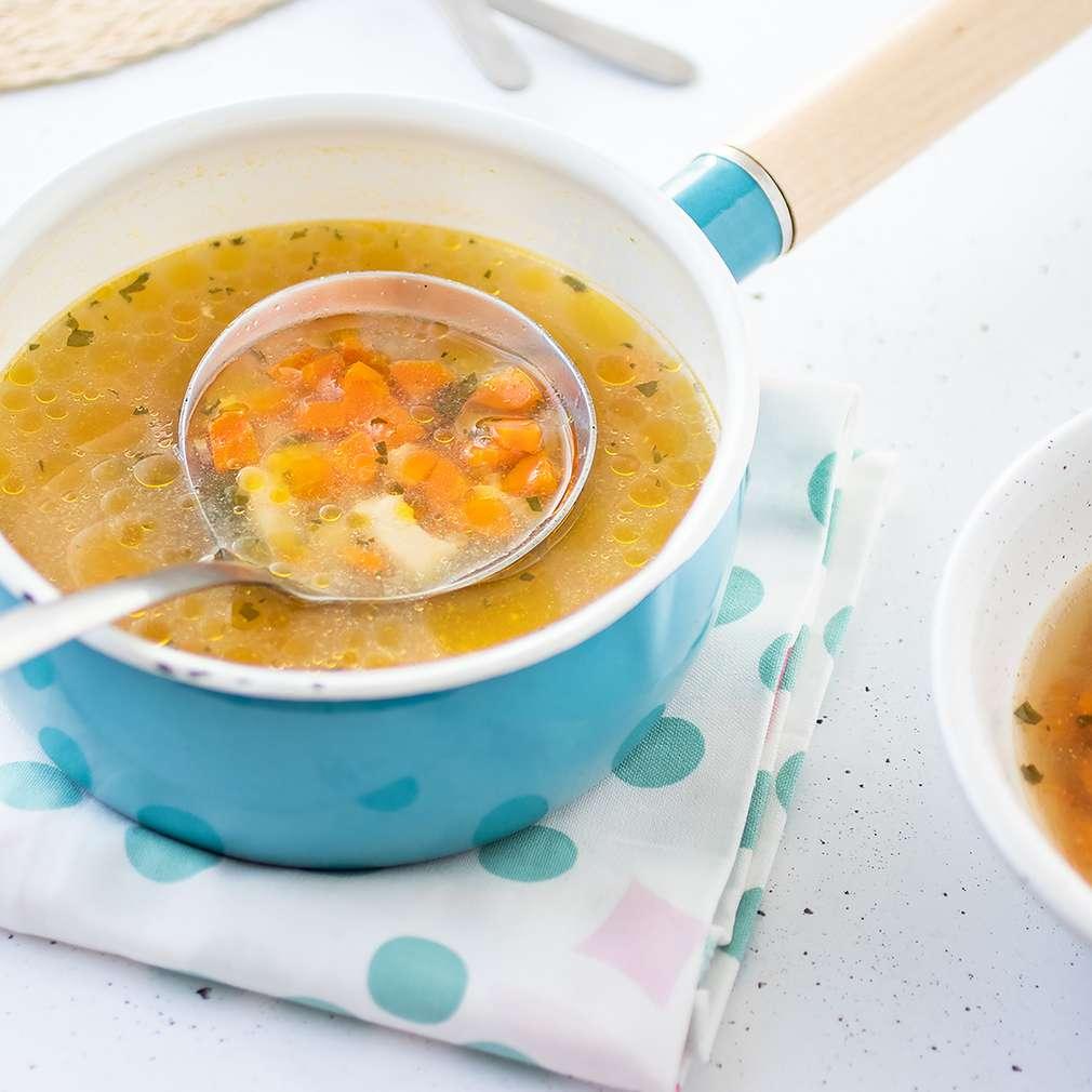 Fotografija recepta Brza pileća juhica