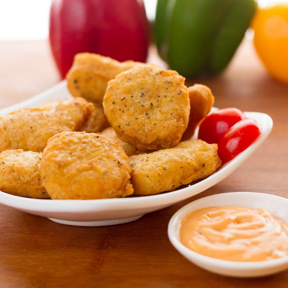 Imaginea rețetei Fishburger cu sos curry