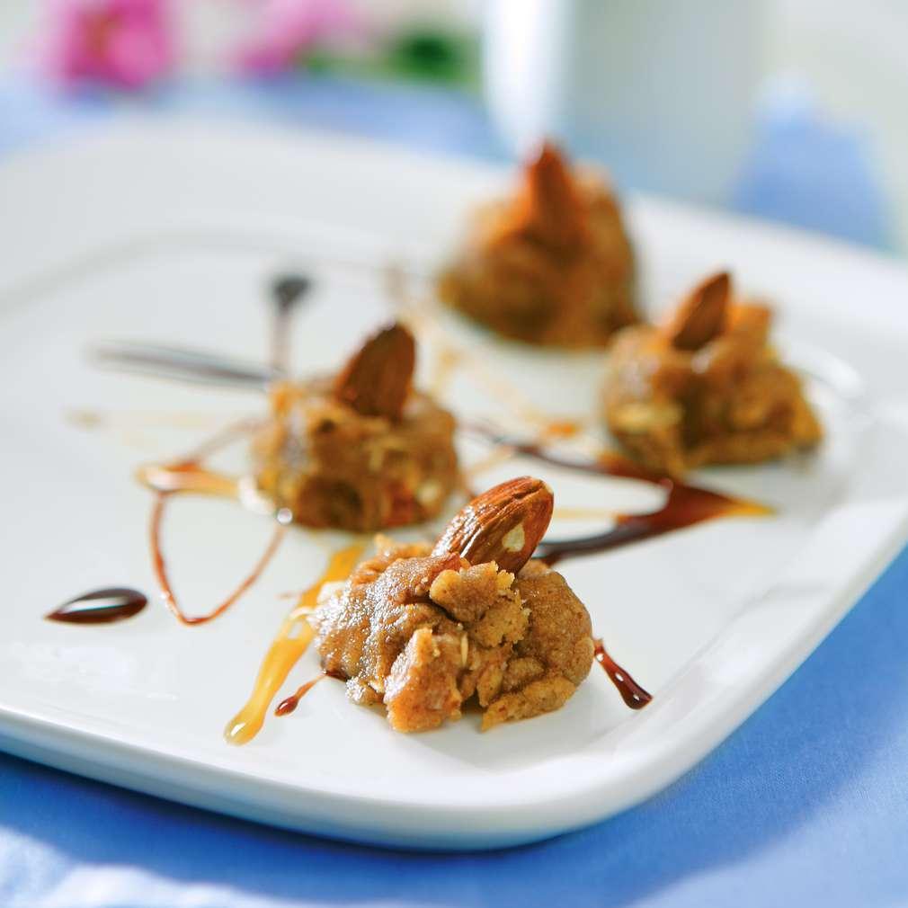 Изобразяване на рецептата Бадемови сладки