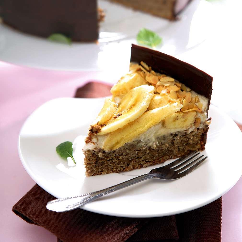 Изобразяване на рецептата Банана кейк