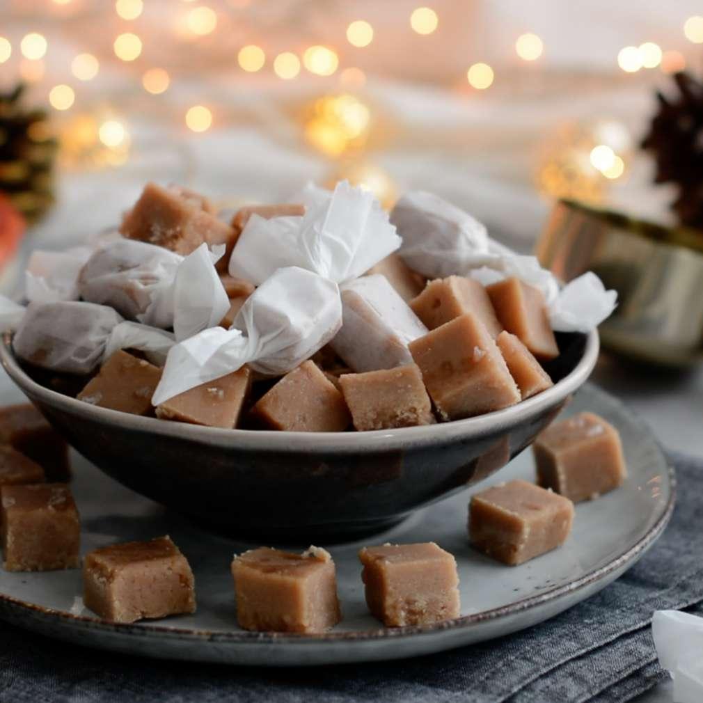 Zobrazenie receptu Domáce karamelky s čokoládou