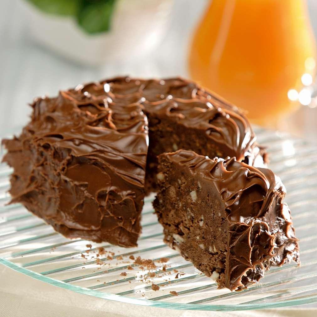 Изобразяване на рецептата Шоколадова бисквитена торта