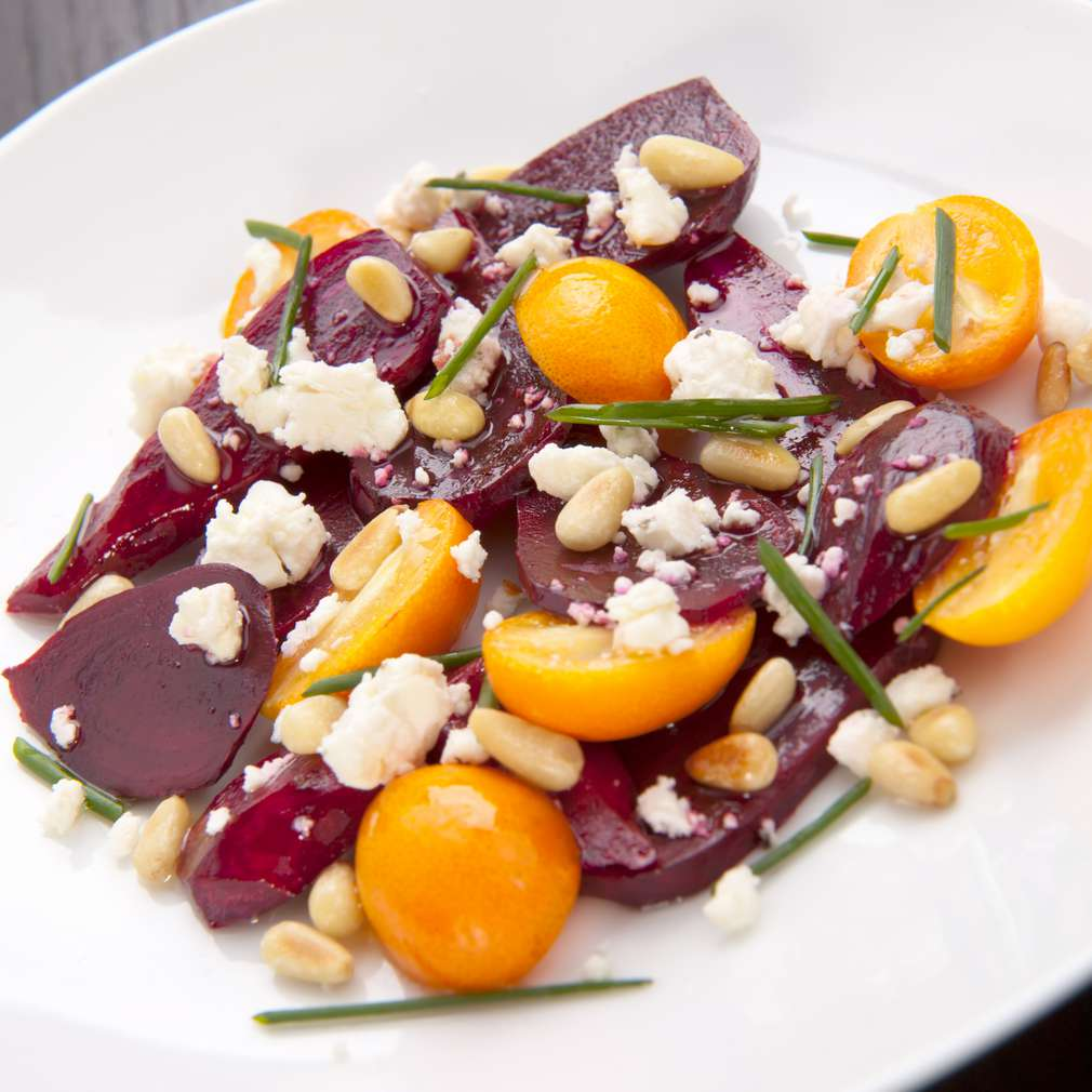 Imaginea rețetei Salată de sfeclă roșie