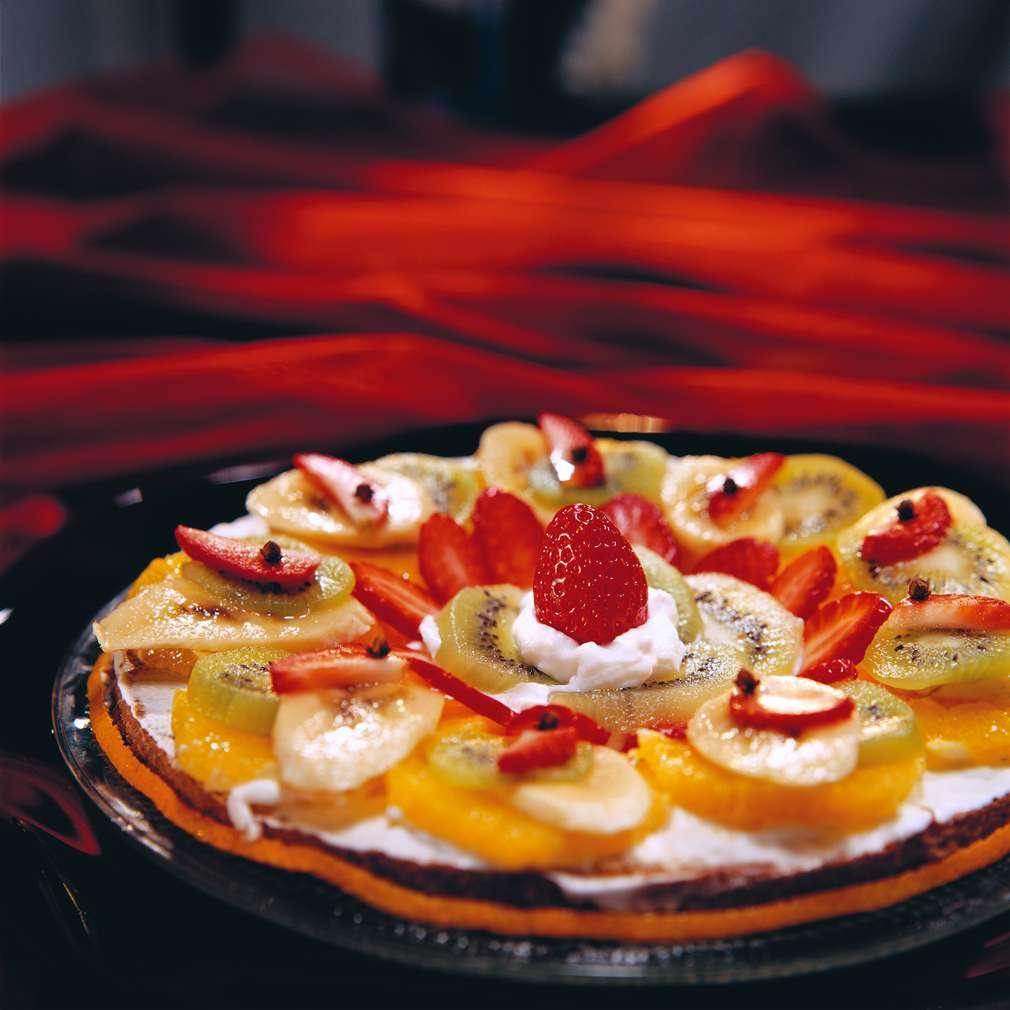 Изобразяване на рецептата Плодова пица
