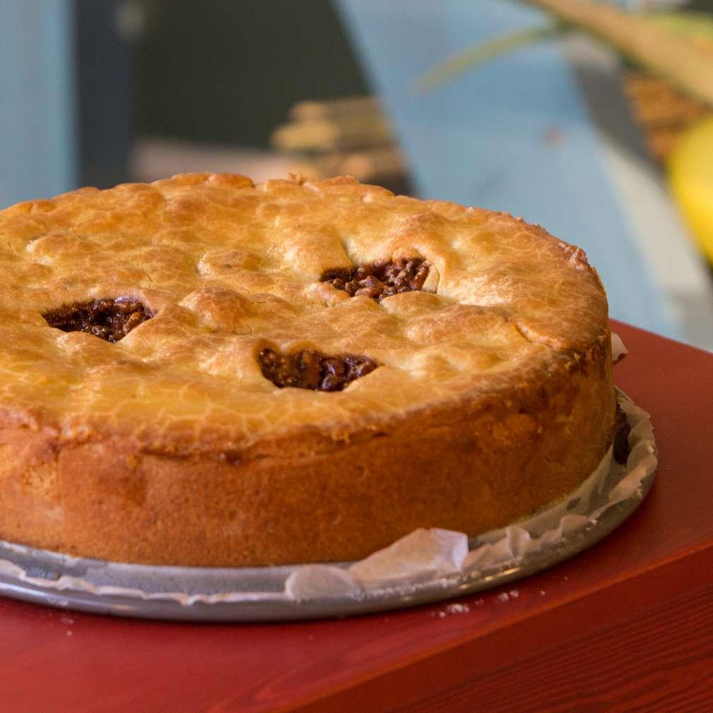 Изобразяване на рецептата Орехов пай