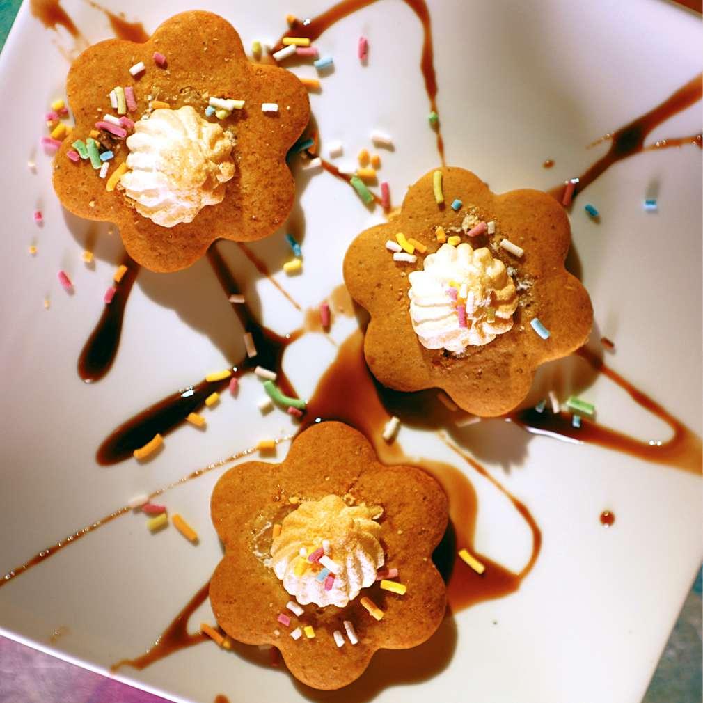Изобразяване на рецептата Медени бисквити