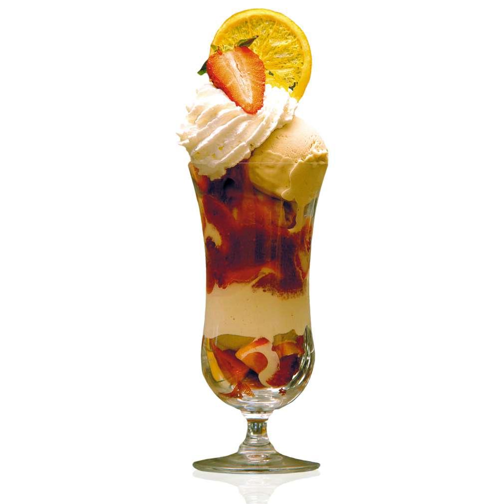 Изобразяване на рецептата Ягодова мелба със сладолед