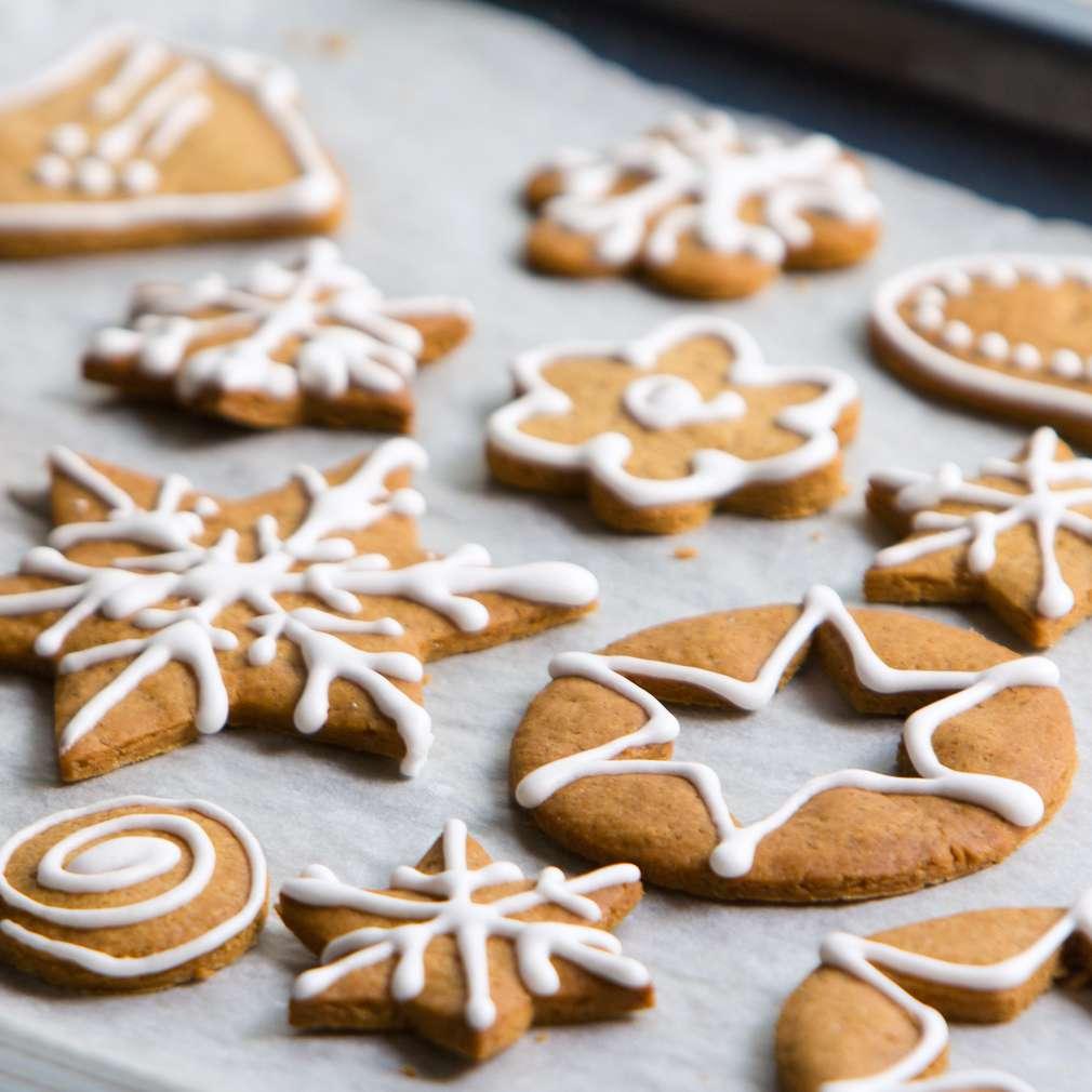 Изобразяване на рецептата Джинджифилови сладки