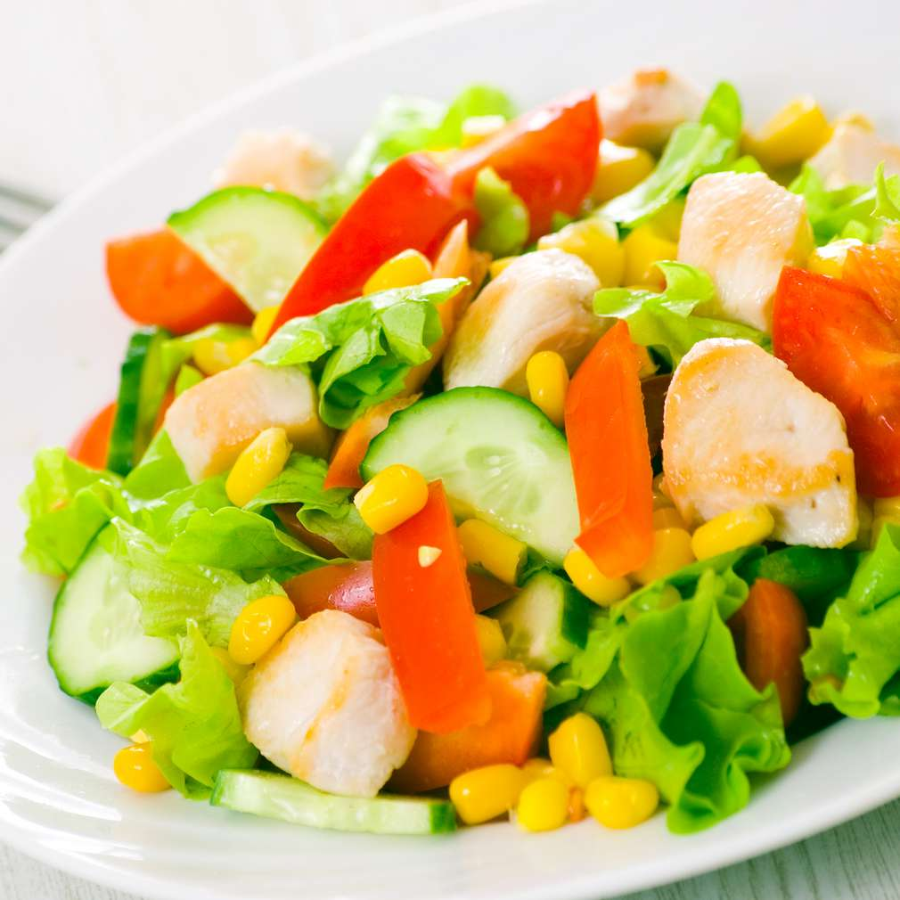 Imaginea rețetei Salată cu pui