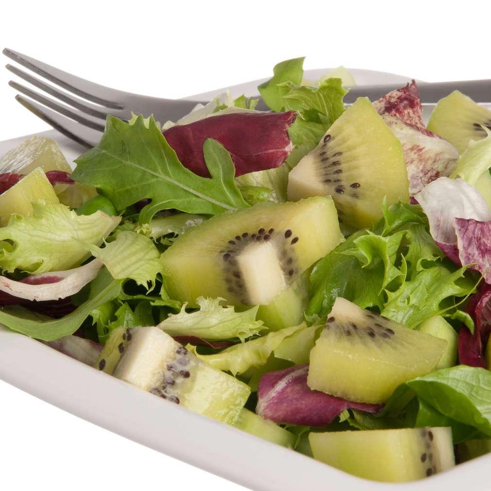 Imaginea rețetei Salată de rucola și kiwi