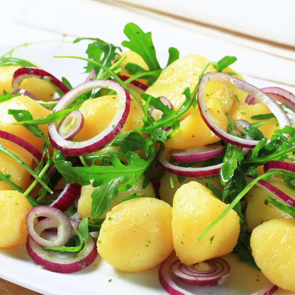 Imaginea rețetei Salată de rucola și cartofi