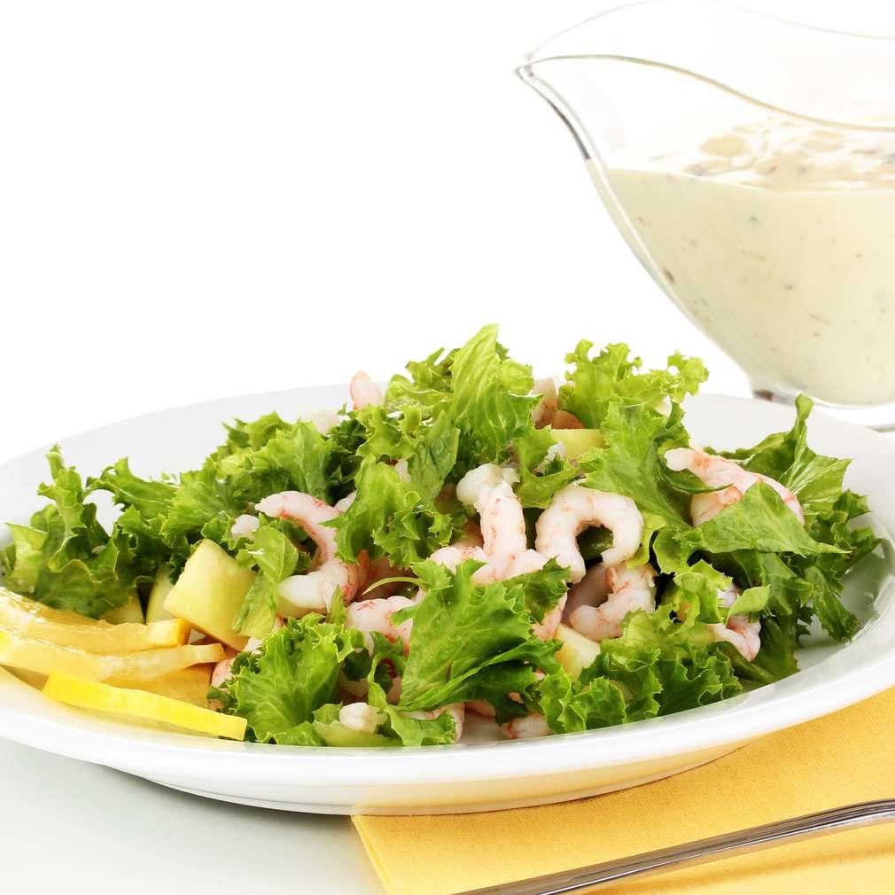 Imaginea rețetei Salată de creveți