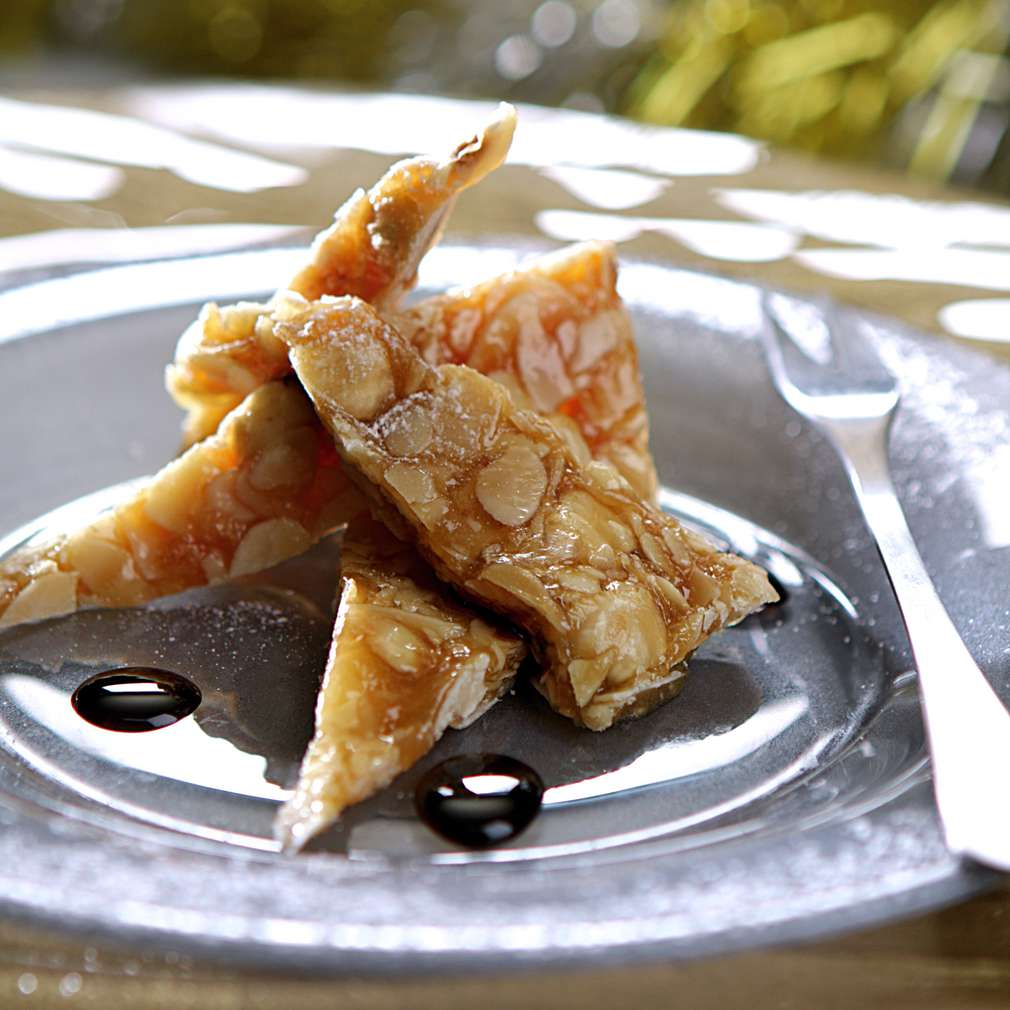 Изобразяване на рецептата Блокчета от мед и ядки