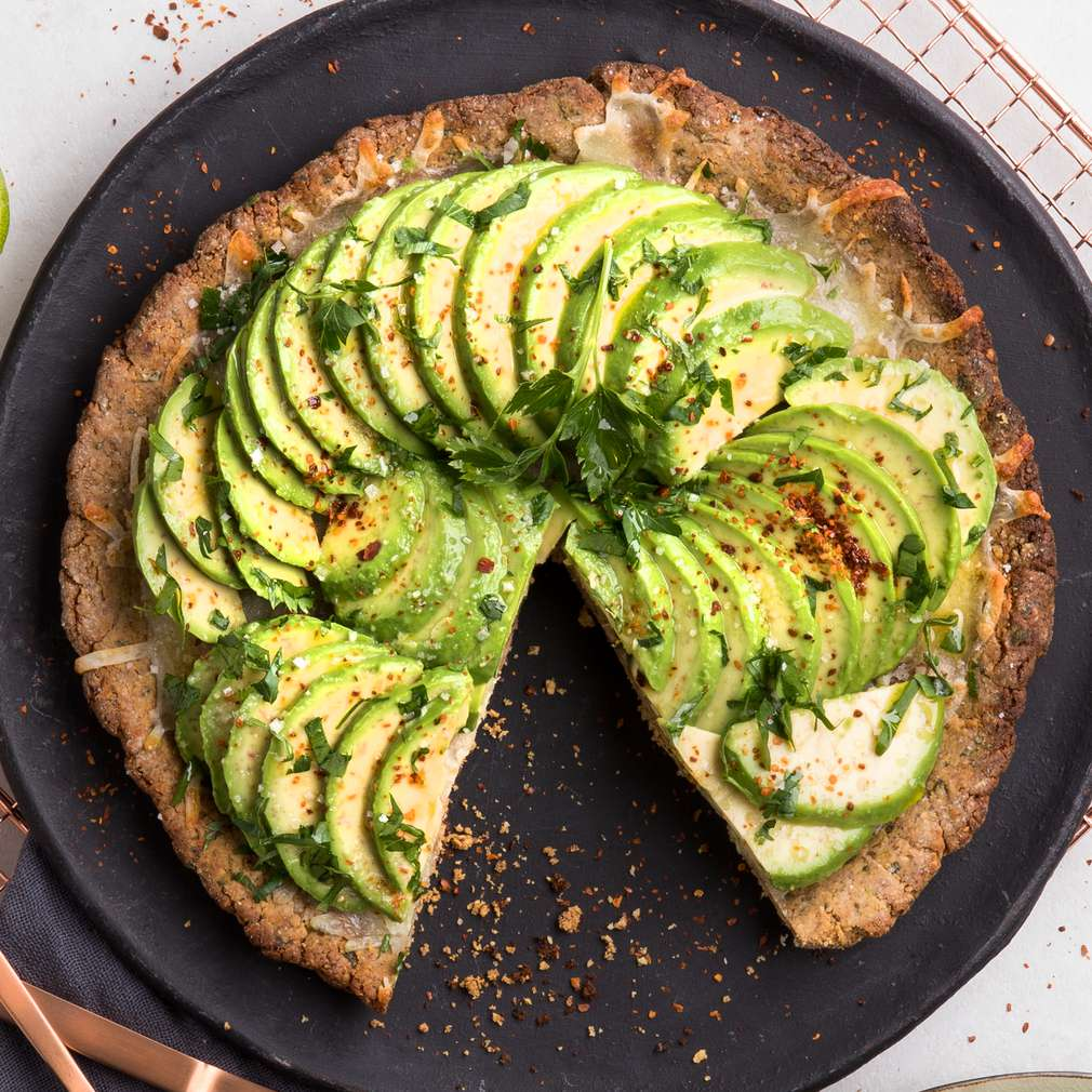 Abbildung des Rezepts Low Carb Avocado-Pizza