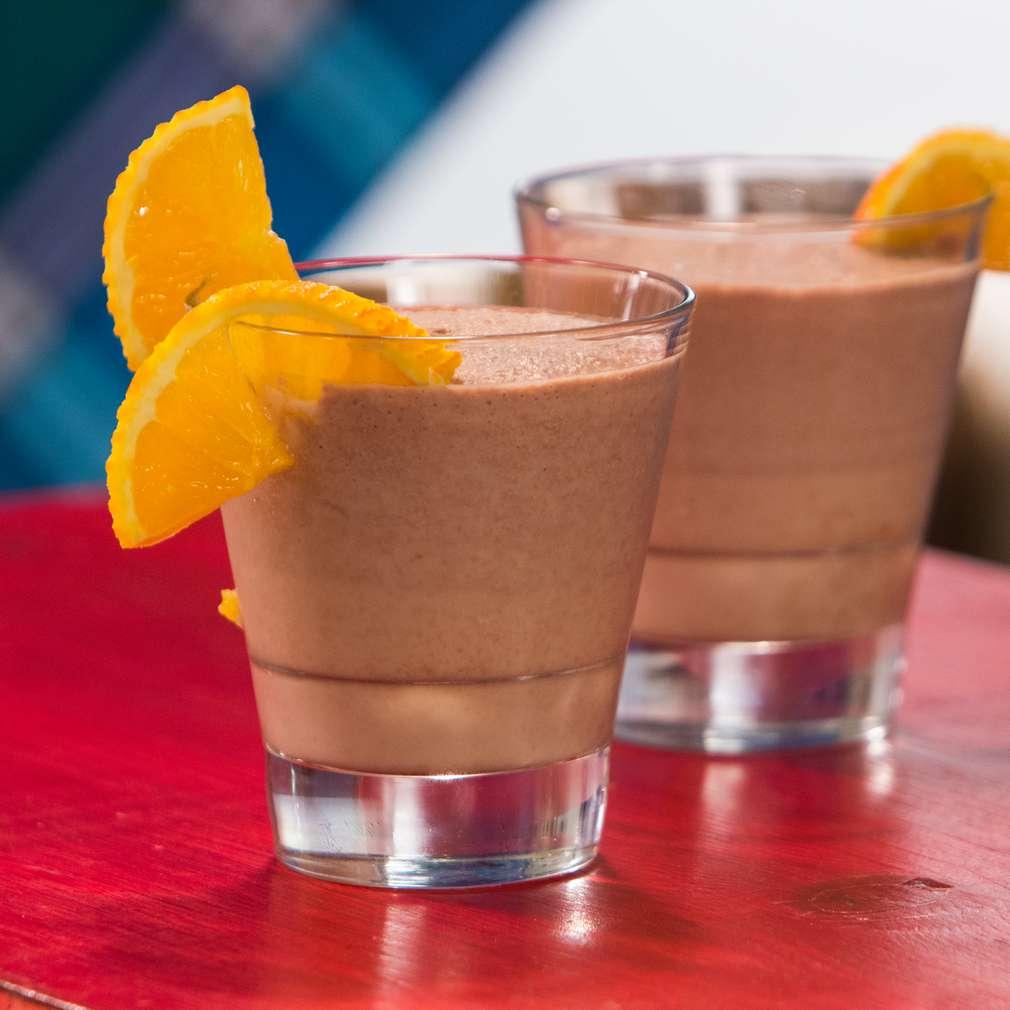 Изобразяване на рецептата Шоколадово смути с разтворимо кафе