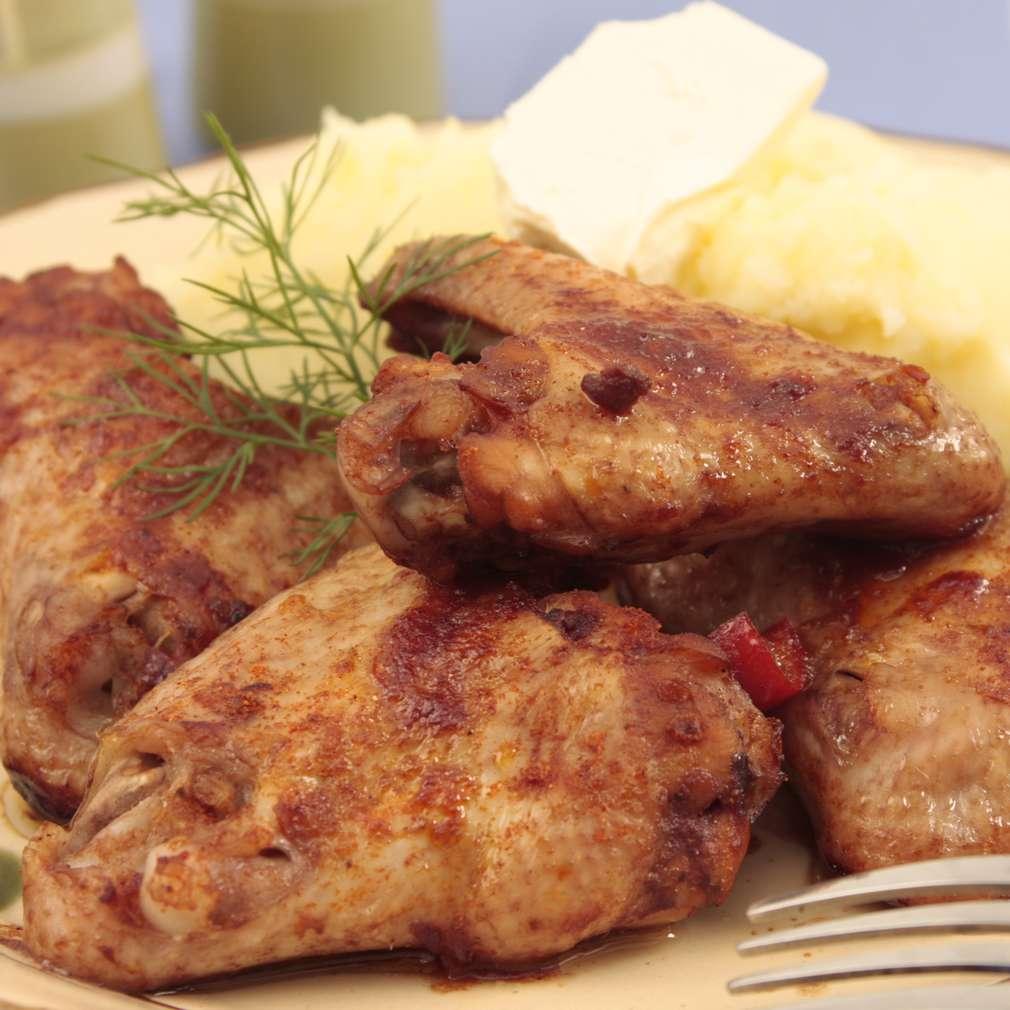 Imaginea rețetei Aripioare cu crustă de miere