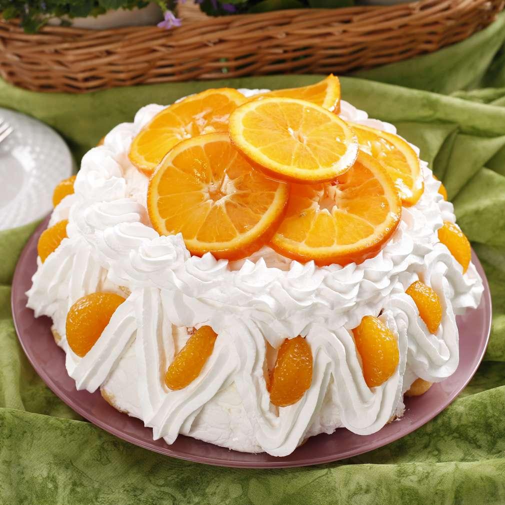 Imaginea rețetei Tort cu iaurt și clementine