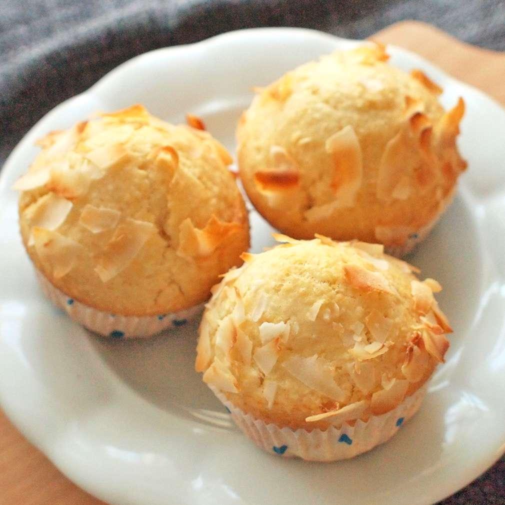 Zobrazit Tvarohové muffiny s kokosem receptů